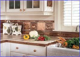 copper backsplash kitchen copper tiles for kitchen backsplash
