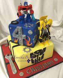 optimus prime cakes monika bakes custom cakes portfolio weddings 3d cakes birthdays