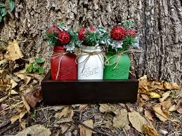 Rustic Christmas Centerpieces - christmas centerpiece christmas decor christmas table decor