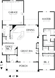 open house plans modern house open one story floor plans crtable