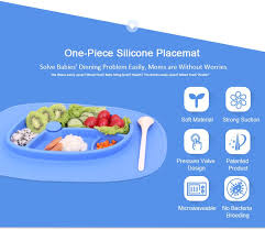 baby plates silicone baby plate placemat plates baby food mat silicone