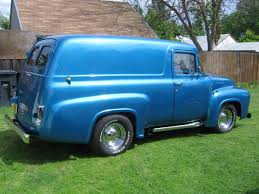 Vintage Ford Truck Body Panels - tricked out 1956 ford panel truck yay or nay ford trucks com