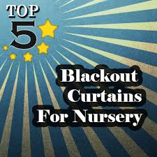Room Darkening Curtains For Nursery Prepossessing 20 Blackout Shades For Baby Room Design Inspiration