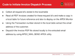 The Local Table by Email Ar Invoices To Customers