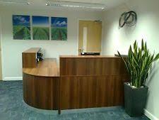 Oak Reception Desk Curved Reception Desk Ebay