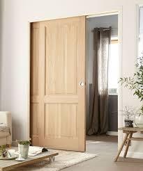 porte coulissante pour chambre porte intérieure coulissante une idée pour gagner de la place