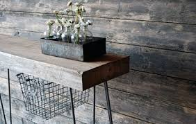 salvaged wood console table 40 stunning reclaimed wood console tables