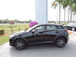 mazda cx3 black 2017 used mazda cx 3 touring fwd at royal palm nissan serving palm