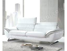 canapé simili cuir blanc pas cher canape simili cuir blanc pas cher canapacs en noir et 32 places