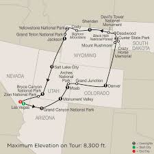Monument Valley Utah Map by Globus Tours 2018 Globus Usa And Canada Tours Tours Safe