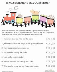 question or statement worksheet education com