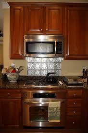 Tin Kitchen Backsplash Kitchen Faux Tin Kitchen Backsplash Roll Tiles Pvc Diy Wallpaper