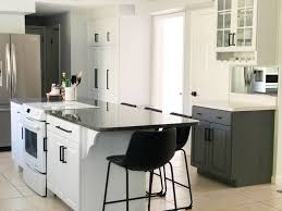 can you spray nuvo cabinet paint kitchen makeover with nuvo cabinet paint the thome home