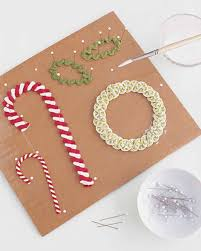 rickrack christmas crafts martha stewart