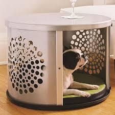 denhaus bowhaus modern end table dog crate furniture u2013 pet pro