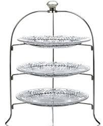 3 tier serving stand godinger serveware dublin 3 tier serving rack serveware