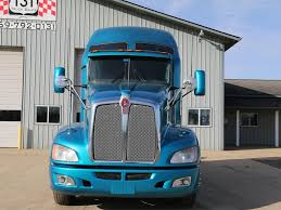 trucksales kenworth used 2009 kenworth t660 tandem axle sleeper for sale in mi 1009