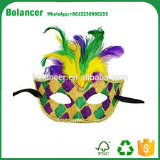 wholesale mardi gras beautiful promo wholesale mardi gras party mask with feather buy