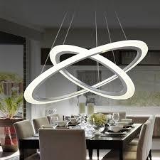 esszimmer h ngele moderne 2 ring 12 watt led pendelleuchte küche wohnzimmer