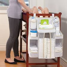 Changing Table Side Organizer Dexbaby Caddy And Nursery Organizer For Baby S