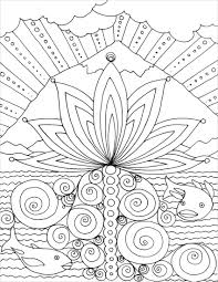 coloring page mountain lotus u2013 the spirit traveler