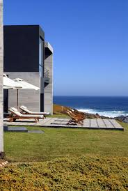 gorgeous summer house with beach view in chile freshome com