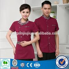 best seller waiter uniform design steward uniform for waitress