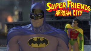 batman arkham city halloween costumes batman arkham city superfriends batman and robin youtube