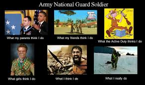 National Guard Memes - image 250553 what people think i do what i really do know