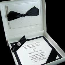 Vip Invitation Cards Black Tie Wedding Invitations Plumegiant Com