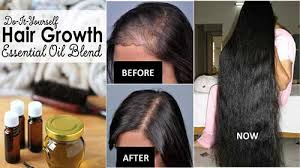 essential oils for hair growth and thickness mix these 4 oils together and use it daily you will get long and