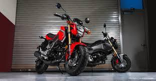 black honda bike grom honda powersports