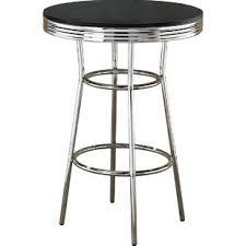 zipcode design lucai 36 pub table modern contemporary retro pub table allmodern