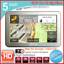 Sat Nav With Usa And Europe Maps by 2017 2016 New 5 Inch Car Gps Navigator Fm 8gb Ddr128m Best Gps For