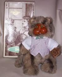 Wooden Faced Teddy Bears Robert Raikes Originals Jessica Bear 52505 Wood Face Limited