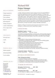 How To Highlight Skills In by How To Highlight Skills In A Project Management Cv Self