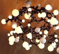 Light Bulb Chandelier Diy A Bright Idea Try This Diy Light Bulb Chandelier Diy Interiors