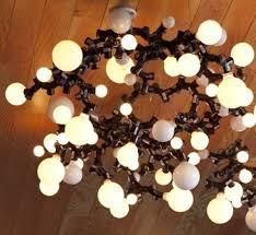 Diy Light Fixtures A Bright Idea Try This Diy Light Bulb Chandelier Diy Interiors
