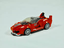 ferrari side lego speed champions 75882 ferrari fxx k u0026 development center