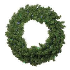 christmas garland battery operated led lights shop northlight 24 in pre lit indoor battery operated canadian pine