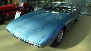 vintage maserati ghibli 1970 maserati ghibli spyder exterior and interior retro