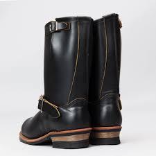 engineer style motorcycle boots engineer boot black klondike 2966 s u0026s exclusive standard