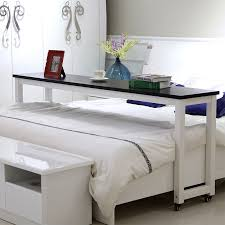 bed table on wheels simple moving across the bed table laptop computer table desk double