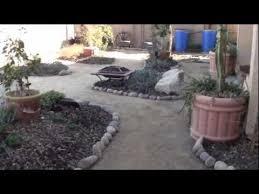River Rock Garden Bed River Rock Garden Path And Garden Bed Project Update