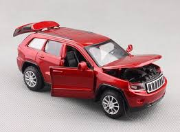 jeep cherokee toy 1 32 black white silver red diecast jeep grand cherokee