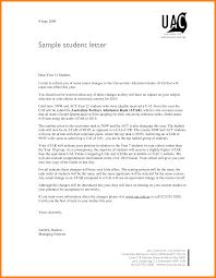 recommendation letter student gallery letter samples format