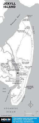 jekyll island map the jekyll island historical district moon travel guides