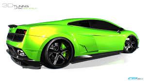 mobil balap lamborghini lamborghini gallardo lp 540 green goblin is a virtual madness