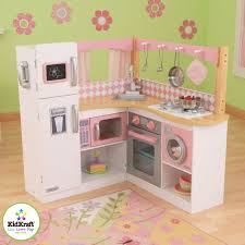 cuisine enfant cuisine dinette enfant en bois grand gourmet kidkraft maison