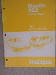 1988 mazda 323 station wagon auto wiring diagram manual electric
